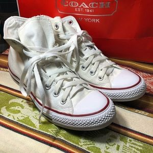 Converse classic high top Chuck Taylor shoes